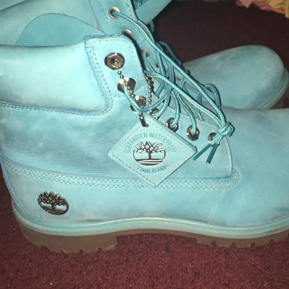 Timberland Shoes | Baby Blue Timbs